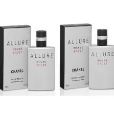 Bộ 2 Nước hoa nam Chanel Allure Homme Sport Eau de Toilette 50ml