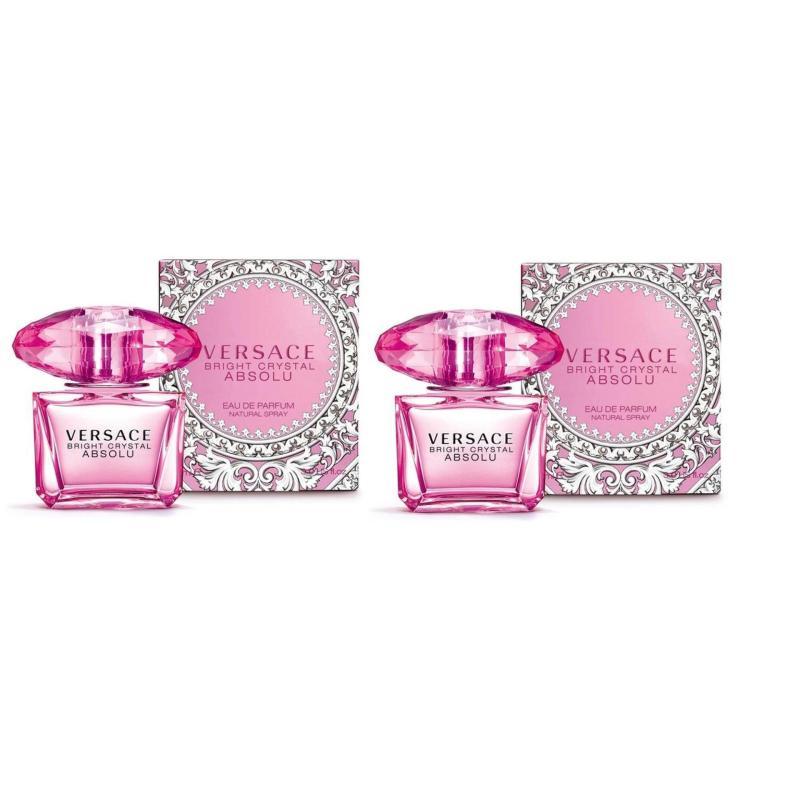Bộ 2 Nước hoa nữ Versace Bright Crystal Absolu Eau de Parfum 30ml