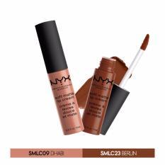 Ôn Tập Trên Bộ 2 Son Kem Nyx Professional Makeup Soft Matte Lipcream Abu Dhabi Berlin