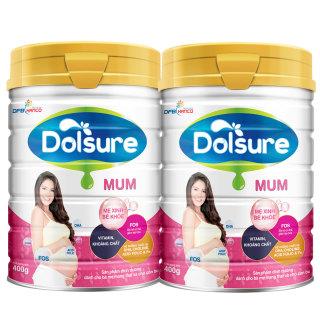 Bộ 2 Sữa bột Dolsure Mum 900gr thumbnail