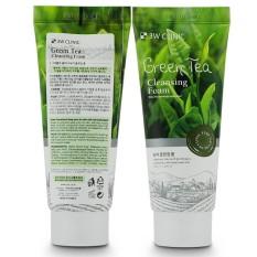 Bộ 2 Sữa Rửa Mặt Chiết Xuất Từ Trà Xanh 3w Clinic Green Tea Foam Cleansing 100ml x2