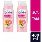 Ôn Tập Bộ 2 Sữa Tắm St Ives Hương Cam Chanh 400Ml