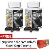 Mua Bộ 2 Thực Phẩm Chức Năng Hau Tam Hiệp 30 Vien Tặng Vien Nhan Sam Linh Chi Korea King Ginseng Trực Tuyến
