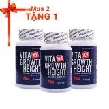 Mã Khuyến Mại Bộ 2 Vien Tăng Chiều Cao Vita Growth Height 60 Vien Tặng 1 Sản Phẩm Cung Loại Rẻ
