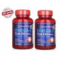 Cửa Hàng Bộ 2 Vien Uống Dầu Ca Puritan S Pride Omega 3 Fish Oil 1000Mg 3832 Trong Hà Nội