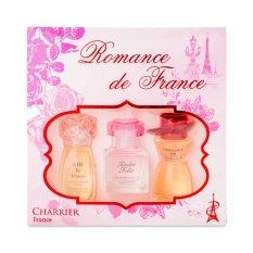 Giá Bán Bộ 3 Chai Nước Hoa Romance De France Charrier Parfums Nguyên