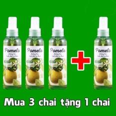 Bán Bộ 3 Chai Tinh Dầu Bưởi Pomelo Tặng 1 Chai Pomelo Cung Loại Rẻ Hồ Chí Minh