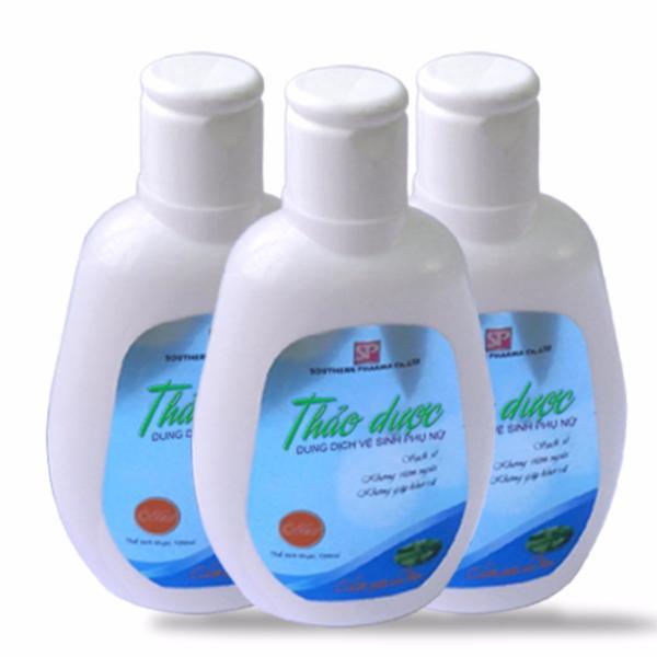 Bộ 3 dung dịch vệ sinh phụ nữ thảo dược 100ml