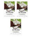 Bộ 3 Goi Kem Muối Tẩy Tế Bao Chết Lam Trắng Da Mặt Va Toan Than Sokiss Salt Spa Cream Face And Body Scrub 100G X 3 Nguyên