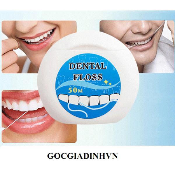 Bộ 3 hộp Chỉ nha khoa chăm sóc răng miệng (tròn)