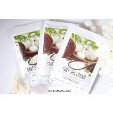 Bộ 3 Kem muối tẩy tế bào chết làm trắng da mặt và toàn thân SoKiss Salt Spa Cream 100ml
