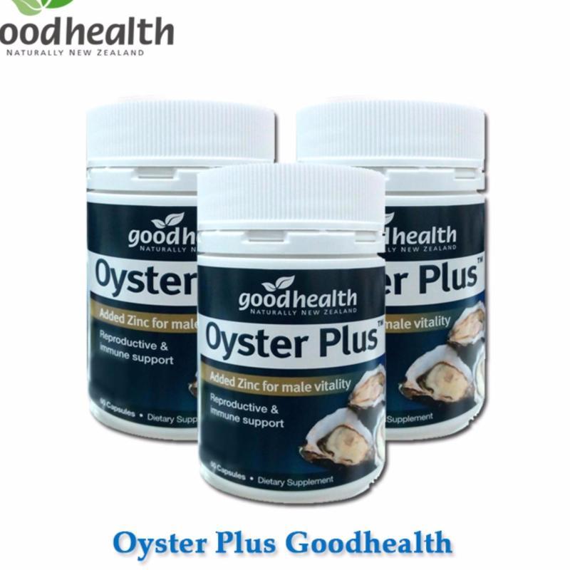 Bộ 3 lọ Tinh chất hàu Oyster Plus Goodhealth