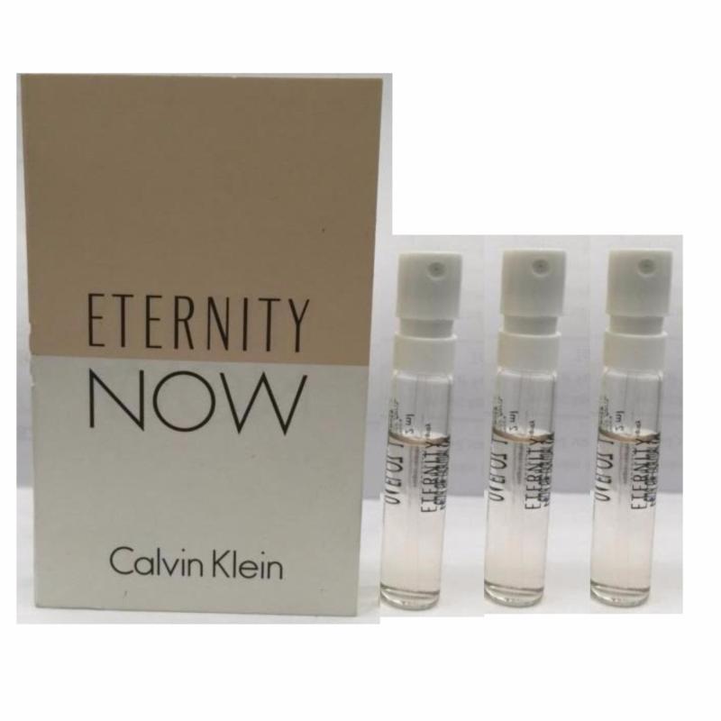 Bộ 3 nước hoa vỉ Calvin Klein Eternity Now Eau de Parfum 1.2 ml