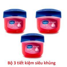 Bán Bộ 3 Son Dưỡng Moi Vaseline Rosy Lips Therapy 7G Trực Tuyến