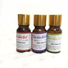 Bộ 3 tinh tinh dầu sả chanh+ oải hương + quế 100% thiên nhiên