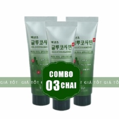 Bán Bộ 3 Tube Dầu Lạnh Glucosamine 150Ml Han Quốc Korea