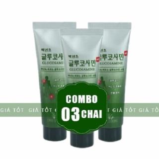 Bộ 3 Tube Dầu Lạnh Glucosamine 150ml Hàn Quốc thumbnail
