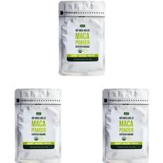 Bộ 3 túi bột Gelatinized Maca hữu cơ Hola Andina 200g nhập khẩu