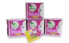 Bộ 4 gói băng vệ sinh hàng ngày cotton BELLE FLORA gói 20 miếng nhập khẩu