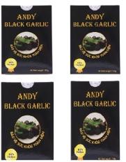 Bộ 4 hộp Tỏi đen cô đơn Andy 125g