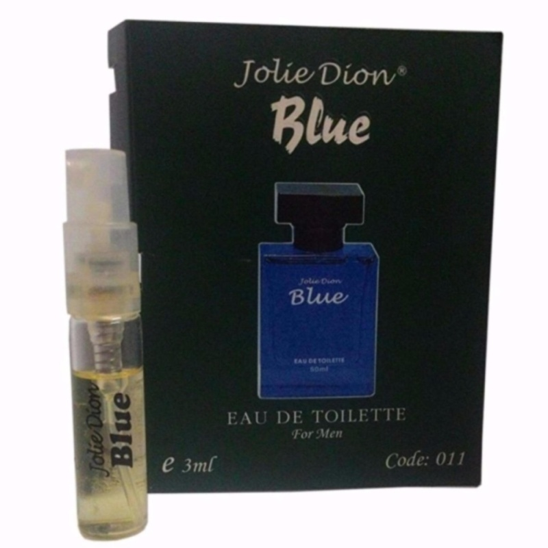 Bộ 4 Nước hoa nam cá tính Blue eau de toilette 3ml