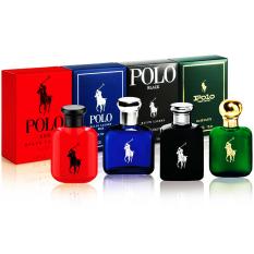 Bộ 4 nước hoa nam mini RALPH LAUREN Polo Eau De Toilette 4 x 15ml