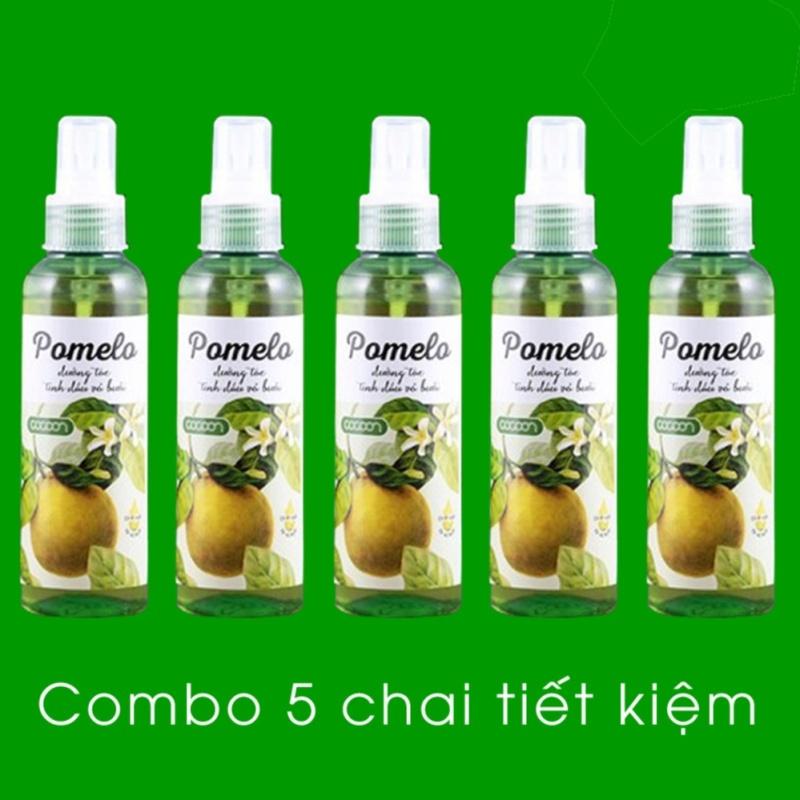 Bộ 5 chai xịt dưỡng tóc Cocoon Pomelo tinh dầu vỏ bưởi 130ml nhập khẩu