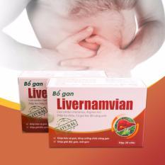 Bộ 5 Hộp Giải Độc Gan Livernamvian Nam Viet Chiết Khấu
