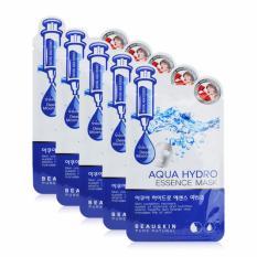 Mã Khuyến Mại Bộ 5 Mặt Nạ Dưỡng Da Beauskin Aqua Hydro Essence Mask