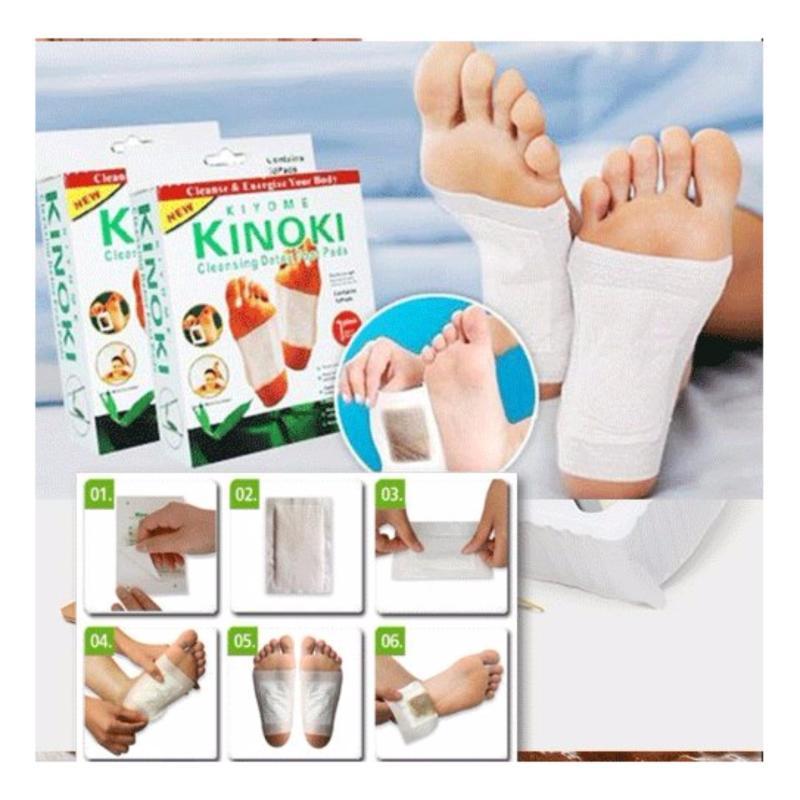 Bộ 5 miếng dán giải độc massage chân cao cấp - Huy Tưởng cao cấp