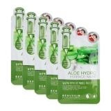 Bán Bộ 5 Miếng Mặt Nạ Phục Hồi Tinh Trạng Da Hư Tổn Aloe Hydro Essence Mask Han Quốc 20Ml Hang Chinh Hang Có Thương Hiệu Rẻ
