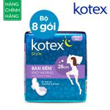 Bán Combo 8 Goi Kotex Style Lst Canh Đem 28Cmx4 Trong Hồ Chí Minh