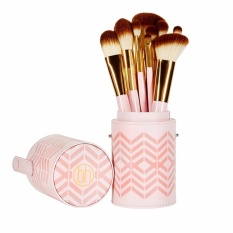 Bộ Cọ 10 Cây BH COSMETICS Pink Perfection - 10 Piece Brush Set