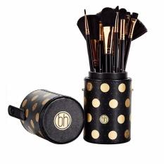 Mua Bộ Cọ 11 Cay Bh Cosmetics Dot Collection 11 Piece Brush Set Black Trực Tuyến