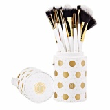 Bán Bộ Cọ 11 Cay Bh Cosmetics Dot Collection 11 Piece Brush Set White Hồ Chí Minh