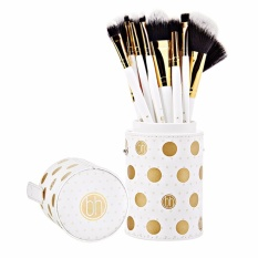 Bộ Cọ 11 Cay Bh Cosmetics Dot Collection 11 Piece Brush Set White Bh Cosmetics Chiết Khấu