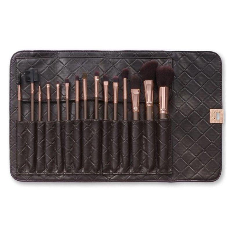 Bộ cọ 15 cây BH Cosmetics 15 pc Rose Gold Brush Set