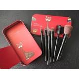 Giá Bán Bộ Cọ Trang Điểm Hộp Sắt Mini 6 Cay Vacosi Collection Makeup House Hồng Vacosi Nguyên