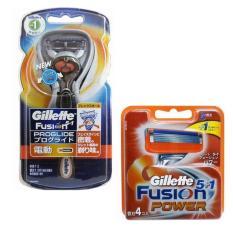 Bán Bộ Dao Cạo Rau Chạy Pin 5 Lưỡi Dao Cạo Rau Gillette Fusion Proglide 5 1Power Trực Tuyến