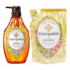 Bán Bộ Dầu Gội Cocopalm Chai 600Ml Va Dầu Xả Cocopalm Tui 500Ml Rẻ Hà Nội