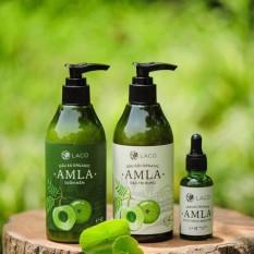 Bộ Dầu gội - Dầu xã - Serum trị rụng tóc kích thích mọc tóc - AMLA