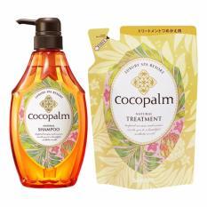 Bộ Dầu Gội Nhật Bản Cocopalm Chai 600Ml Va Dầu Xả Cocopalm Tui 500Ml Mới Nhất
