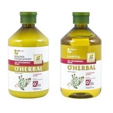 Bộ Dầu Gội Va Dầu Xả Danh Cho Toc Nhuộm O Herbal 500Ml X2 O Herbal Chiết Khấu 40