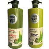 Bộ Dầu Gội Va Dầu Xả Sieu Mượt Danh Cho Toc Hư Tổn Organia White Good Nature Aloe Vera 1500Ml Organia Rẻ Trong Hồ Chí Minh