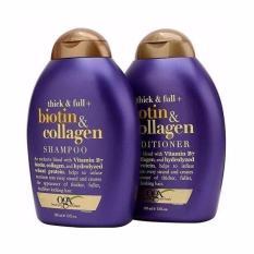 Bộ dầu gội và dầu xả Thick & Full - Biotin & Collagen 385mlx2
