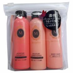 Bộ Dầu Gội Xa Va Sữa Tắm Macherie Shiseido Mini 50Ml X 3 Nhật Japan Chiết Khấu 30