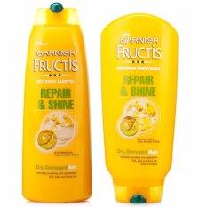 Giá Bán Bộ Gội Xả Chăm Soc Toc Hư Tổn Garnier Fructis Repair Shine 250Mlx 2 Italy Rẻ Nhất