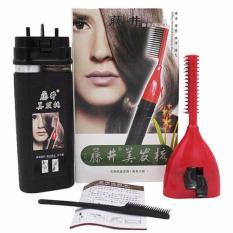 Bộ lược chải và nhuộm tóc thế hệ mới (Đen)