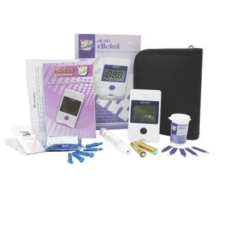 Bộ máy đo đường huyết eBchek S01K (Trắng) thumbnail