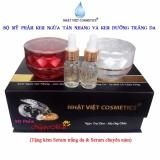 Bán Bộ Mỹ Phẩm Kem Ngừa Nam Tan Nhang Va Kem Dưỡng Trắng Da Ngọc Trai Đen Sữa Ong Chua Vip Nhật Việt Comestic Nhập Khẩu